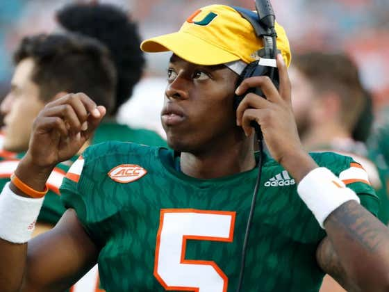 The U Is Back: Miami QB Posts Snapchat Story Of Two People Having Sex