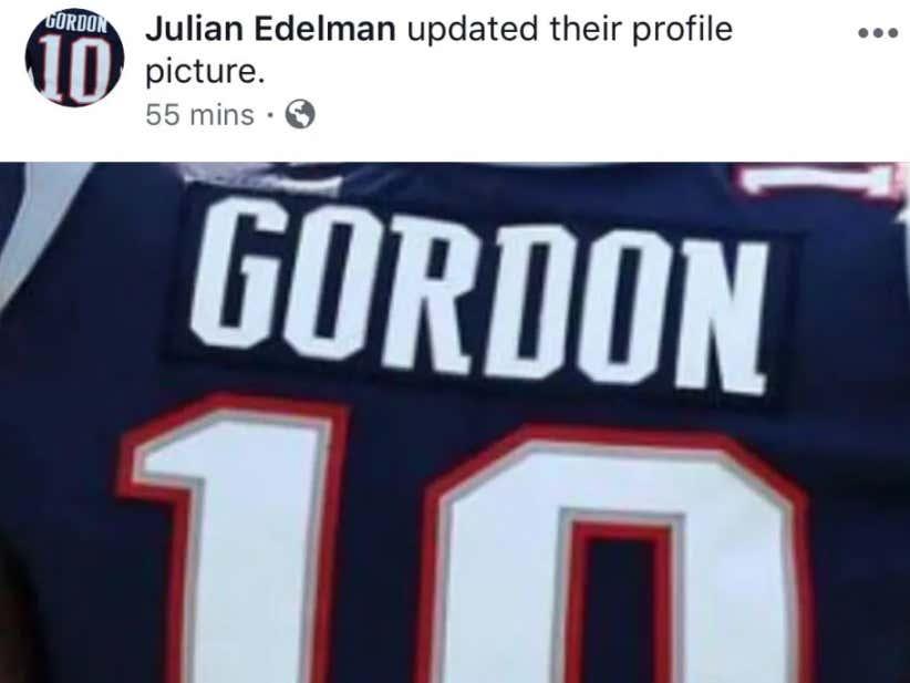 e1883ae1 Tom Brady And Julian Edelman Take To Social Media To Wish Josh Gordon Well  - Barstool Sports