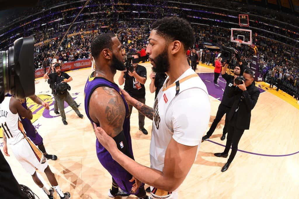 712d52e6aac LeBron James 100 Percent Made His Pitch To Anthony Davis Last Night ...