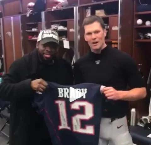 Pk Subban Hung Out In The Patriots Locker Room After Their Win