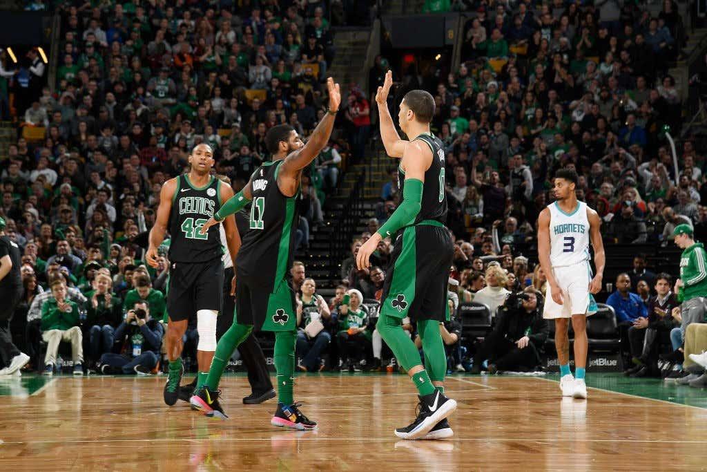Charlotte Hornets v Boston Celtics cdd6cb0f4