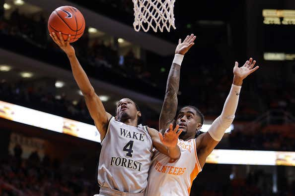 Wake Forest v Tennessee