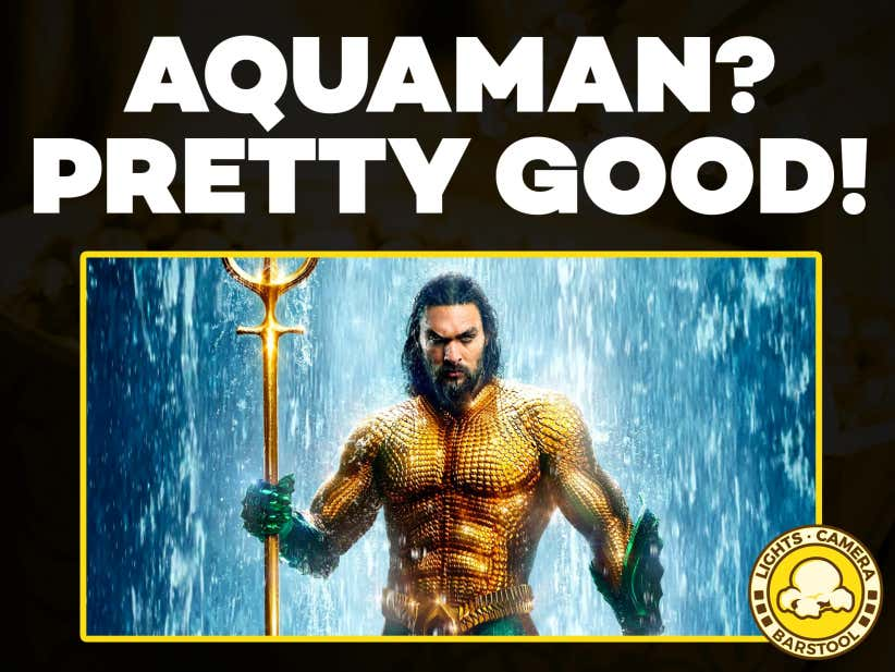 more photos 608d8 74c87 Lights Camera Barstool Ep. 112 - Top 10 Movies That Need Sequels, Aquaman  Review, Jordan Peele s Us Trailer and 3 Hour Avengers Movie - Barstool  Sports