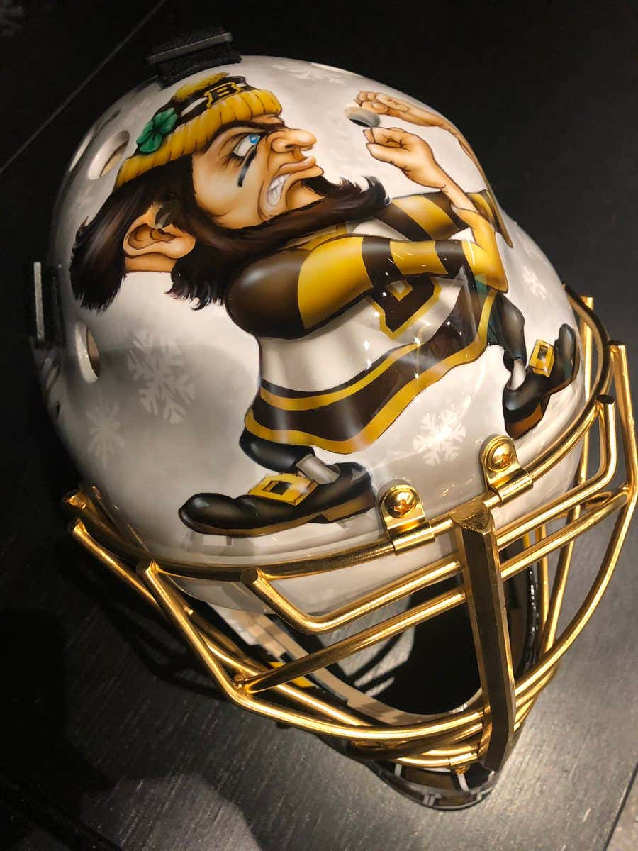 Here s The First Look At Tuukka Rask s Winter Classic Mask ... ffd9faf29