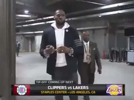 381a20b2c29a Is Lebron Walking Into the Staples Center Drinking Wine Before An NBA Game  A Desperate Cry For Help  - Barstool Sports