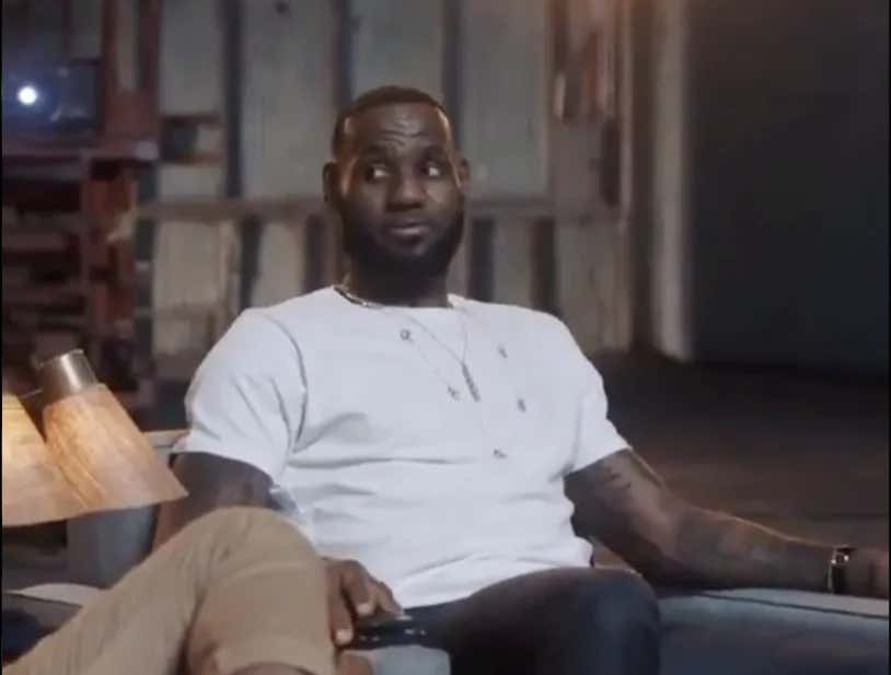 f53137513f2f LeBron James Is The Greatest Player Of All Time According To LeBron James -  Barstool Sports