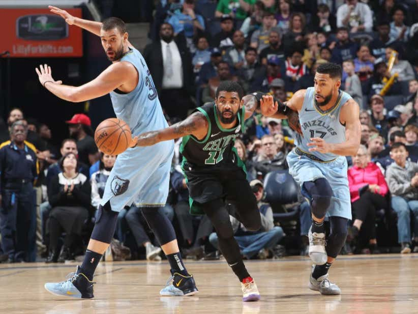 8864a860b88 The Celtics Avoided Disaster With An Impressive 19 Point Comeback In  Memphis - Barstool Sports