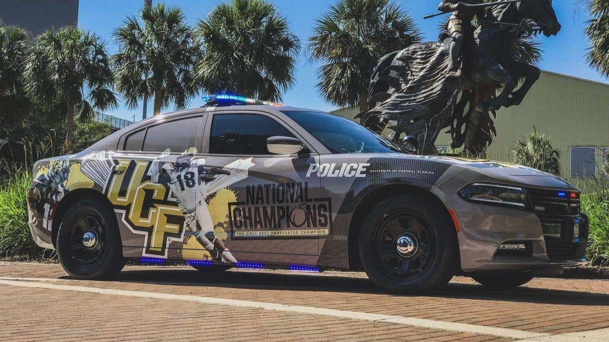 os-ucf-national-champtions-police-car-20180418