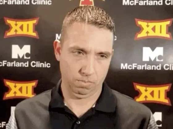 """The Jets Asked To Interview Iowa State Coach Matt Campbell, He Said """"Nah"""""""