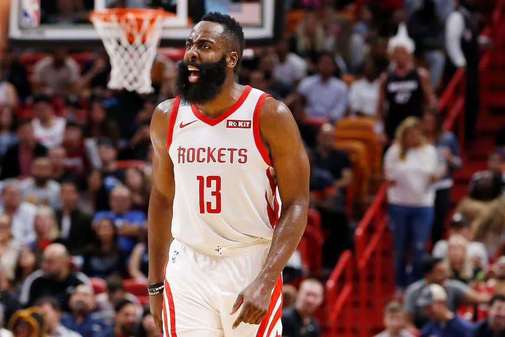ca4587603688 Houston Rockets v Miami Heat