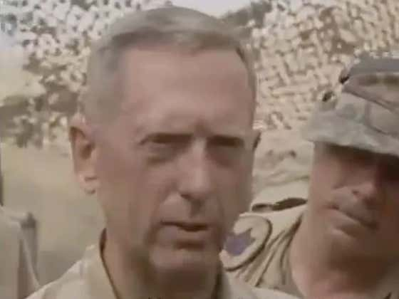 Wanna Run Through A Wall? General Mattis' Letter To 1st Marine Division Is Ready To Help