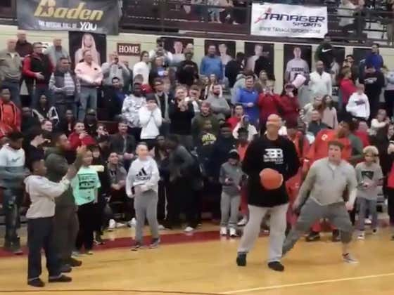 Sit Back, Relax And Enjoy Watching LaVar Ball Badly Miss A Bunch Of Shots In A Row
