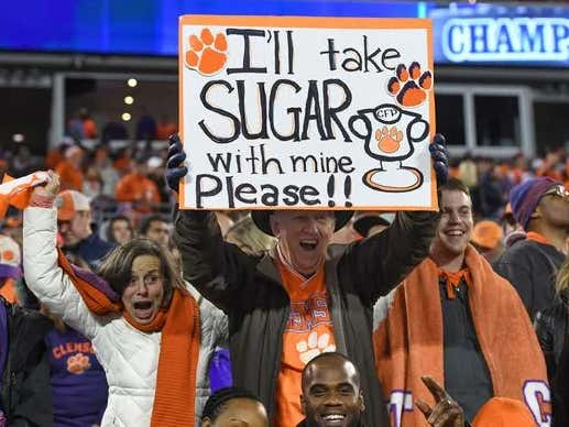 City Of Clemson Suspends Open Container Law For Tonight And Tonight Only
