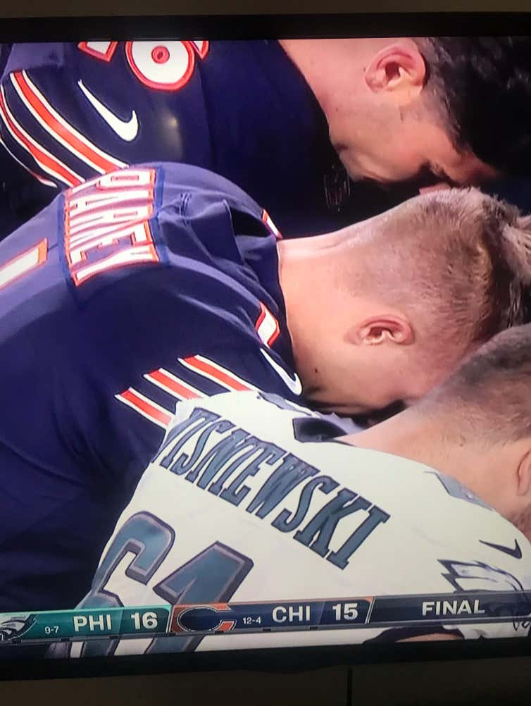 Cody Parkey Still Praying To God After The Double Doink Is Crazytown