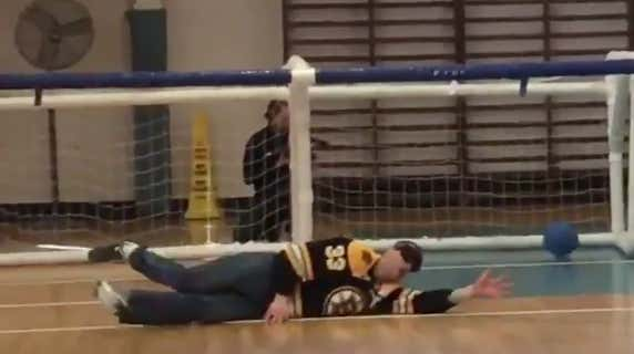 The Bruins Got Fuckin Worked Playing Goalball At Perkins School For