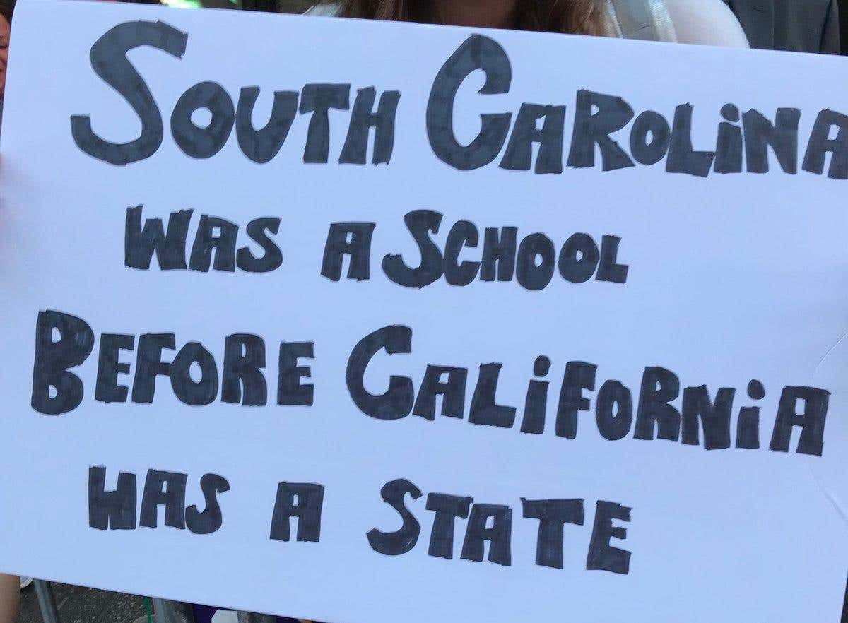 South Carolina Finally Admits That They Are UofSC, Not USC ...
