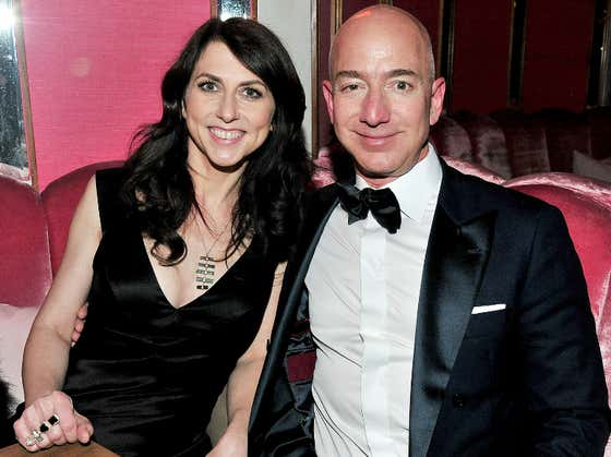 Jeff Bezos Added $13 BILLION To His Net Worth Yesterday, But His Wife Was The Real Winner