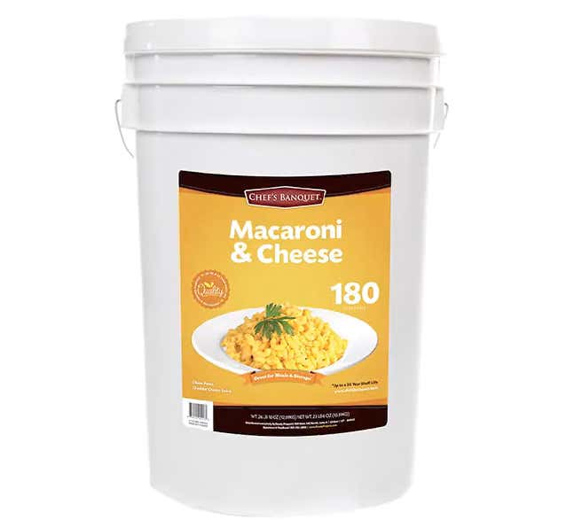 Cheez Louise! Costco Is Selling A 27-Pound Bucket Of Mac