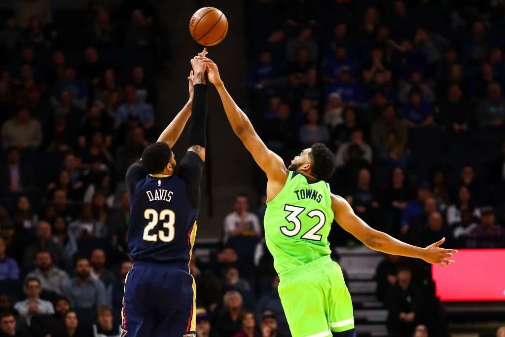 3f0a3c28651 New Orleans Pelicans v Minnesota Timberwolves
