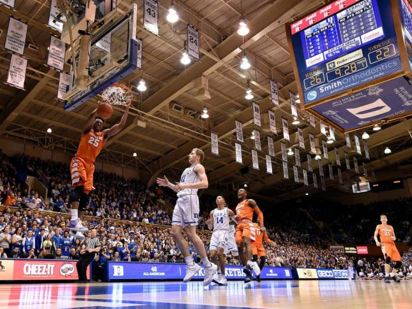684d93fdfe3c SYRACUSE TAKES DOWN NUMBER ONE DUKE IN CAMERON INDOOR - Barstool Sports
