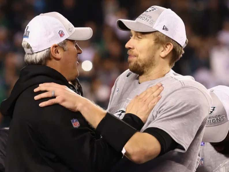 0e26c8fedb3 THANK YOU BDN: Doug Pederson Is Already Talking About Nick Foles In The  Past Tense - Barstool Sports