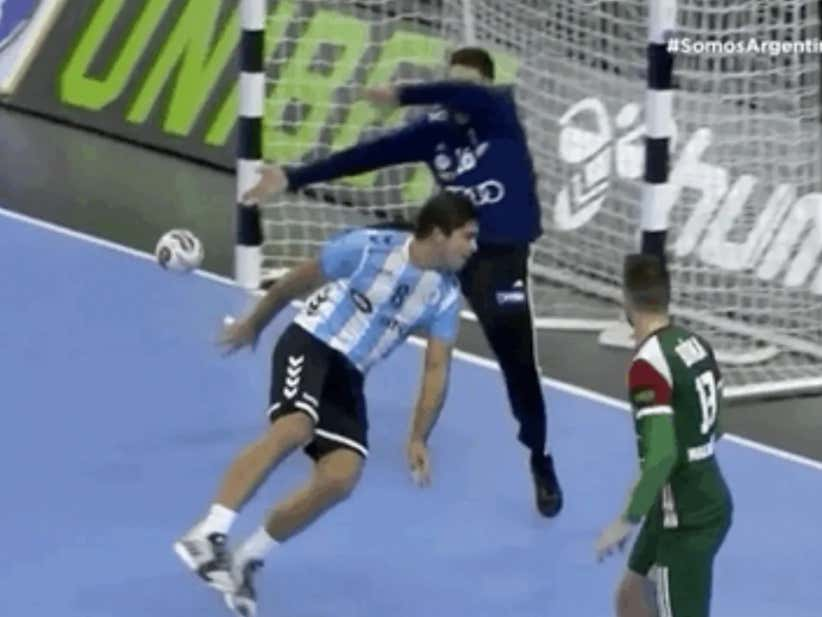 Was This Handball Goal The Most Athletic Play In Sports This