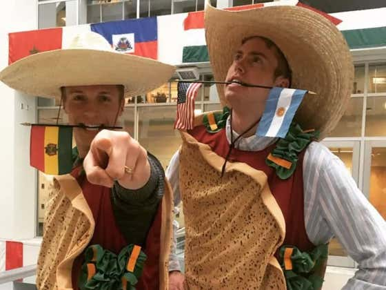"BYU Apologizes For Promoting ""Taco Tuesday"" Event With Two Students Dressed As Tacos"