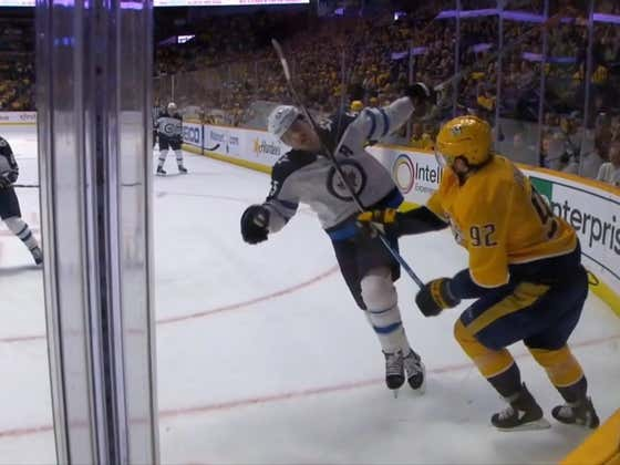 Attempted Decapitation Would Appear To Be Against The Rules In The NHL