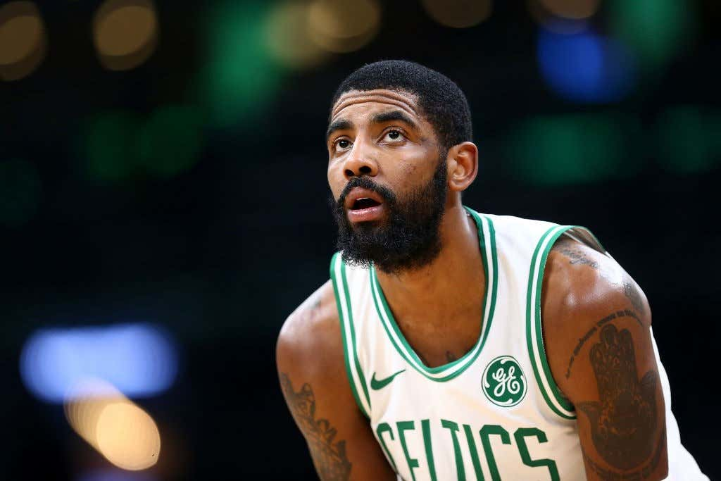 GettyImages 1084860842 1024x683 kyrie irving is on some larry bird shit barstool sports