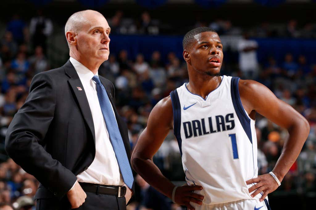 super popular a4947 322d4 Dennis Smith Jr And The Mavs Have Finally Squashed Their ...