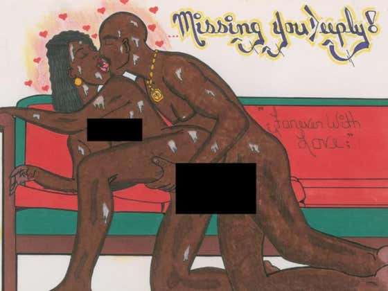A Hand Drawn Cartoon Of Tupac Banging His Ex Girlfriend Just Got Auctioned Off For $21,000
