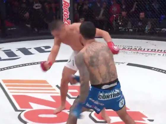 MMA's Top Prospect Found Out What Happens When You Get A Little Too Reckless In The Pocket This Weekend