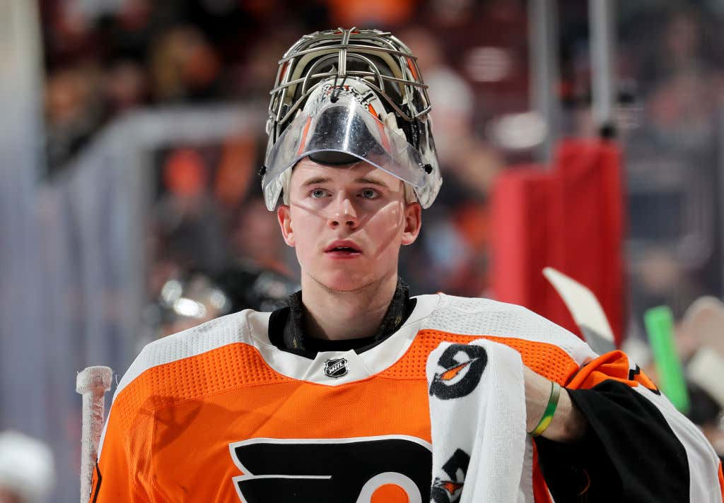 Not A Big Deal Or Anything But Carter Hart Has Turned The