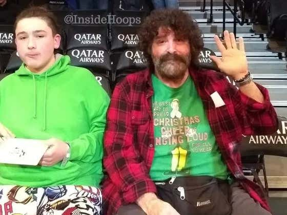 A Fan Thought That Mick Foley Was Robin Lopez's Dad...Who Would Be Other Bulls Fathers From The Attitude Era?