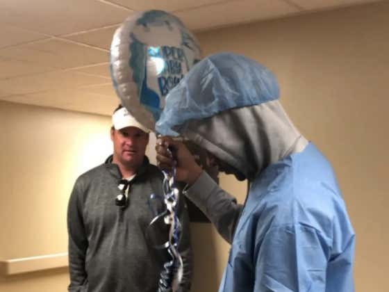 Lane Kiffin Shows Up At Maternity Ward To Do Some Recruiting