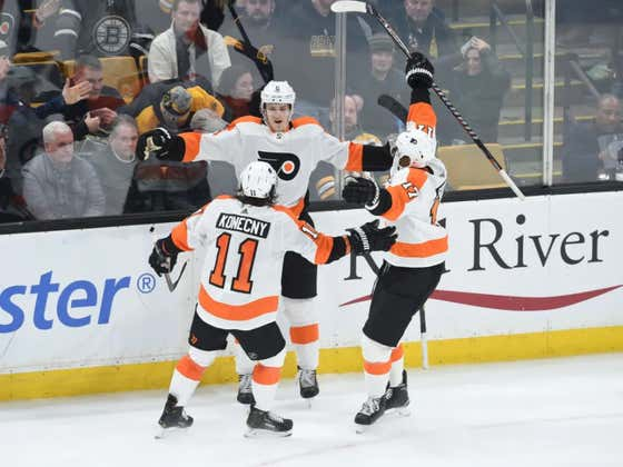 Travis Sanheim Just Tucked The Boston Bruins Into Bed And Kissed Them Goodnight. Flyers Win 6 In A Row