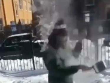 This Guy Threw Boiling Hot Water In The Air And You'll Never Guess What Happened Next!