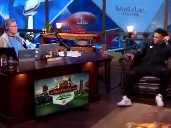 Kyler Murray's Interview With Dan Patrick Was Not Awkward At All. Totally Normal. Definitely Won't Make You Cringe.