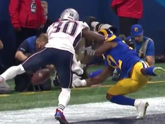 Shoutout Jason McCourty For The Best Pass Break Up Of All Time