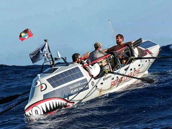Military Vets Reach Land After Rowing 3,000 Miles Over 55 Days At Sea