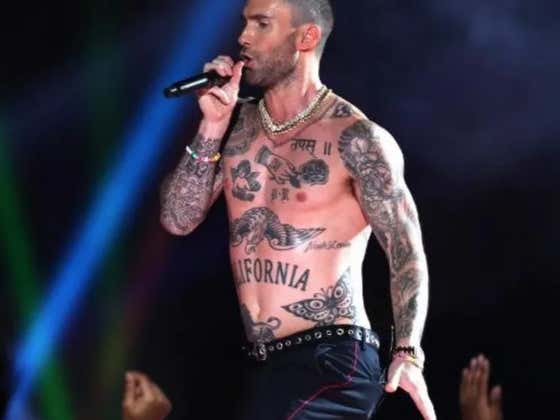 Adam Levine Thanks The Haters For Making Fun Of His Halftime Show