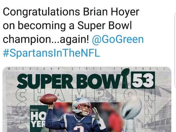 Lil Brother Congratulates Patriots Backup QB For Winning Super Bowl (Again)