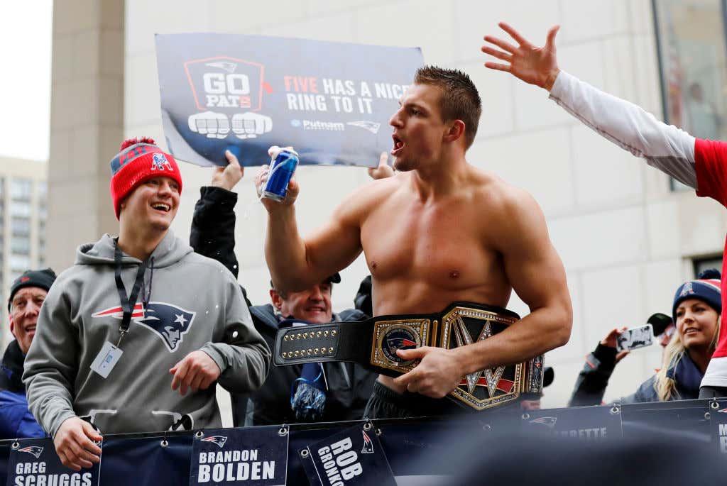 NFL: FEB 07 Patriots Victory Parade
