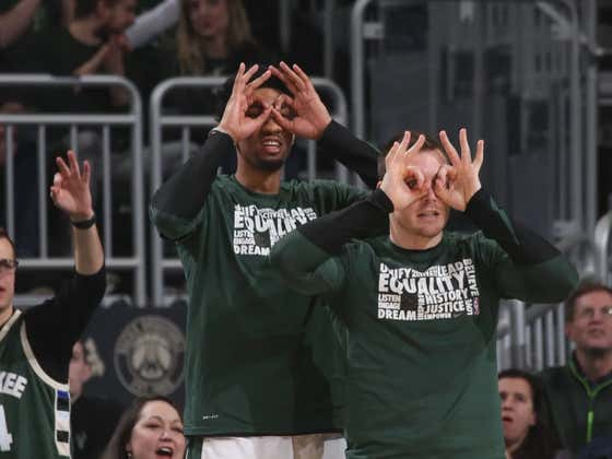 The Bucks Dropped An Astounding 50 Points In The First Quarter Tonight