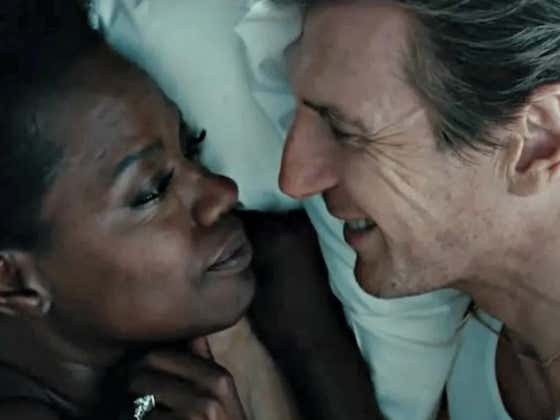 """Michelle Rodriguez Says Liam Neeson Can't Be Racist Because Of How He Kissed Viola Davis In The Movie """"Widows"""""""