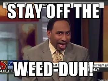 """Time For Stephen A To """"Lay Off The Weed"""" After Saying Dwayne Haskins Is """"More Of A Runner Than A Thrower"""""""