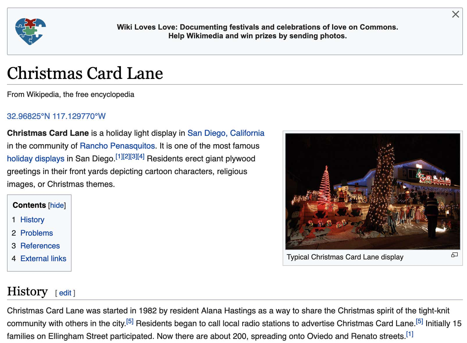 Christmas Card Lane 2019 Man Beats Death, Promptly Celebrates With Family Christmas Party