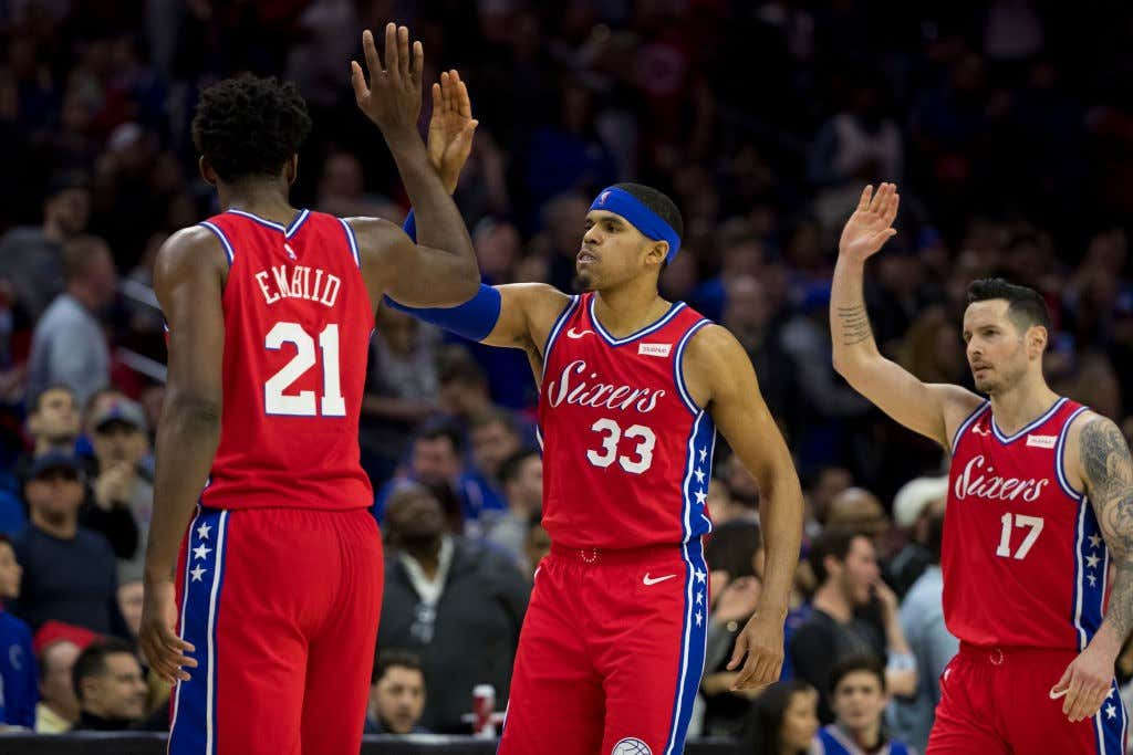 19ff45985dc Last Night In The NBA  The New Look Sixers Dominate