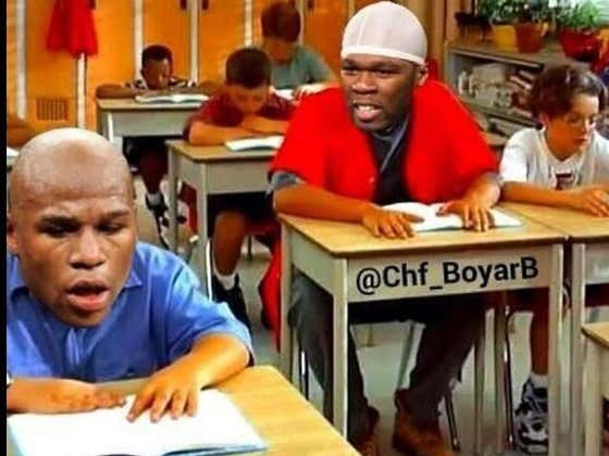 50 Cent Is Back Trolling Floyd Mayweather And I've Never Been Happier