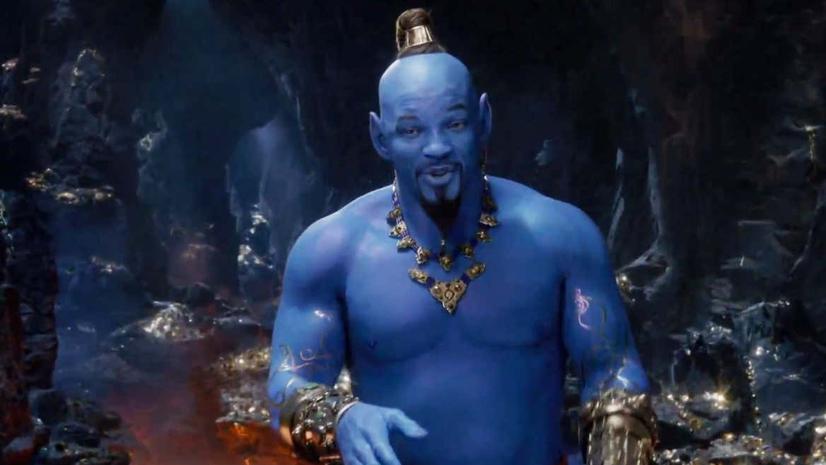 Will Smith As The Geni...